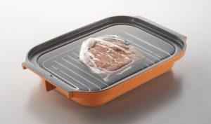 低温調理モードでローストビーフを調理