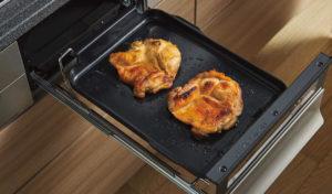 冷凍したお肉をそのまま焼くことができます!