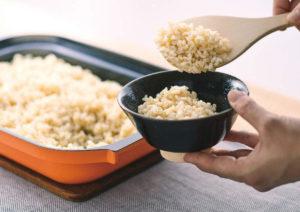 業界初!玄米の炊飯モード