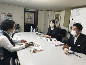 竹内店長と西さん、松村さん